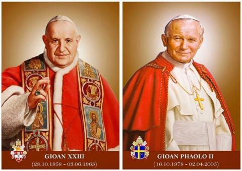 Trực tiếp Thánh Lễ Phong Thánh - Gioan XXIII & Gioan Phaolô II